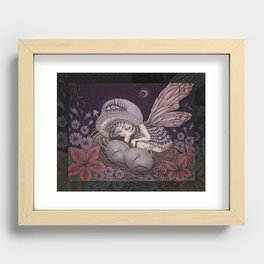 Fairy Dreaming Recessed Framed Print
