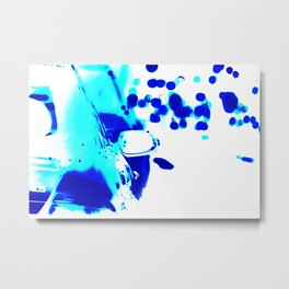 Abstract. Traffic. Weekend away, Metal Print