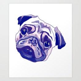 Pug-Tastic! Art Print