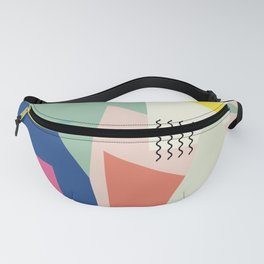 Shapes and Waves Fanny Pack