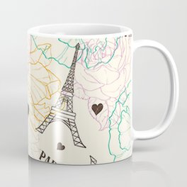 Paris Eifel Tower - Eiffel Tower Paris - France Paris - Eiffel Tower Souvenir Gift Coffee Mug