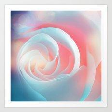 Rose flower and bokeh- Roses Art Print