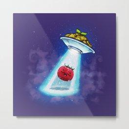 UFO Spaghetti Dreams Metal Print