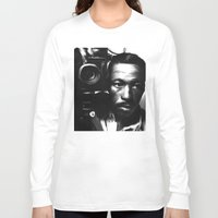 parks Long Sleeve T-shirts featuring GORDON PARKS: Legend by Tia Hank