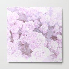 Lilac Floral Metal Print