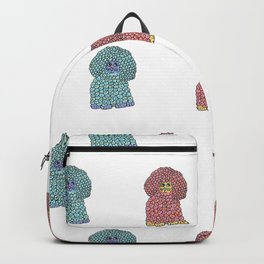 Woof - The Sheep Dog Pattern Backpack