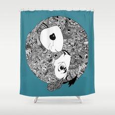 Merger Shower Curtain
