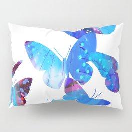 Blue Butterflies Pillow Sham