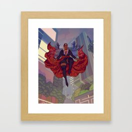 you won't know where I went Framed Art Print