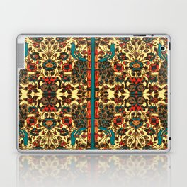 peacock in persian tile paradise Laptop & iPad Skin