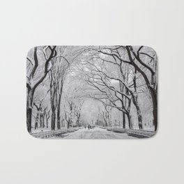 Poet's Walk, Winter Bath Mat