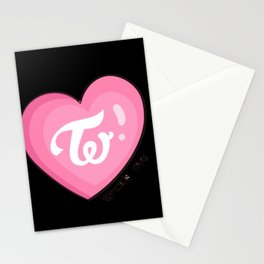 Twice what is love Stationery Cards