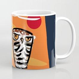 Athene cunicularia Owl Coffee Mug