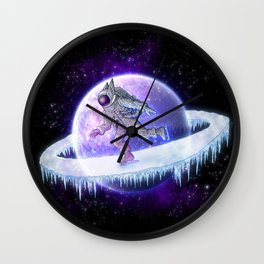 spaceskater Wall Clock
