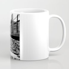 Train track stiletto Mug