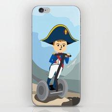 Napoleon Segways the Alps iPhone & iPod Skin