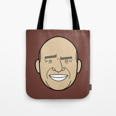 Faces of Breaking Bad: Hank Schrader Tote Bag