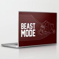 depeche mode Laptop & iPad Skins featuring Beast Mode by Elizabeth Kidder