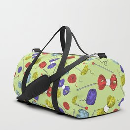 Yarn Duffle Bag
