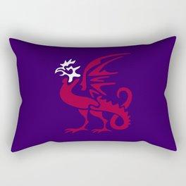 Myths & monsters: basilisk Rectangular Pillow