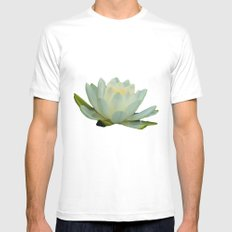 Reflection MEDIUM White Mens Fitted Tee