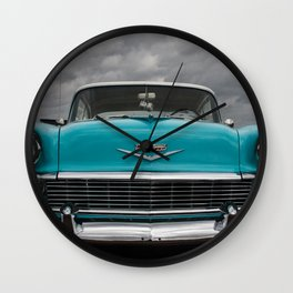 56 Chevy Wall Clock