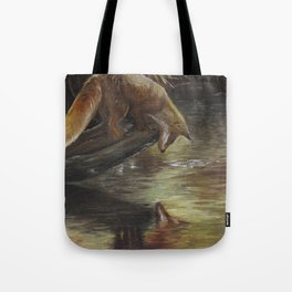 Curious Reflection Tote Bag