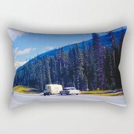 Do Not Feed the Bear Rectangular Pillow