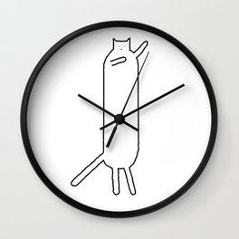 Cat 92 Wall Clock