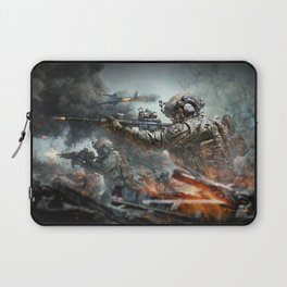 US Marines Devil-Dogs are marching on Laptop Sleeve