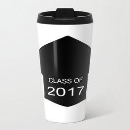Class of 2017 Cap Travel Mug