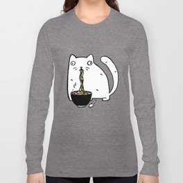 Rasabi Cat - Ramen Forever Long Sleeve T-shirt