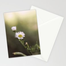 little • white • flower Stationery Cards