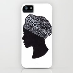The Exotic of Turban Woman Slim Case iPhone (5, 5s)