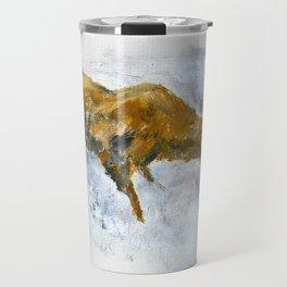 Bear Fishing Travel Mug