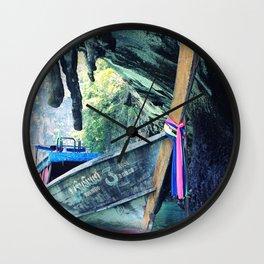 Longboat Wall Clock