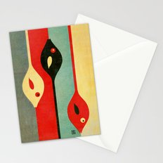 Three Fish in My Mind Stationery Cards