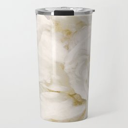 Petals Impasto Alabaster Travel Mug