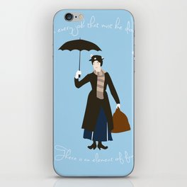 In every job, there is an element of fun iPhone Skin