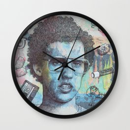 Napoleon Dynamite - Probably The Best Drawing I've Ever Done Wall Clock