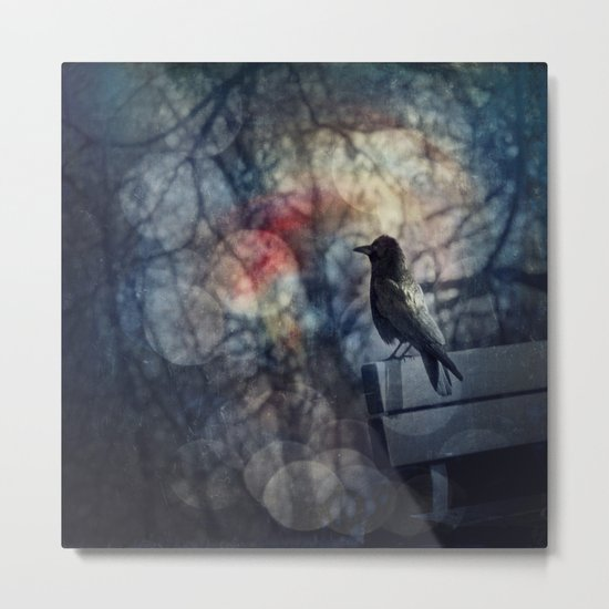 Bird of Fantasy Metal Print