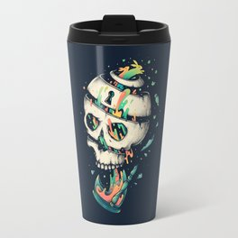Fragile Delusion of Life and Death Travel Mug