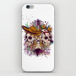 Day of the dead iPhone Skin