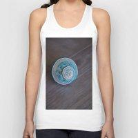 seashell Tank Tops featuring Blue Seashell by Kelly Stiles