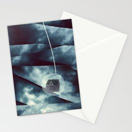 The Housing Bubble Stationery Cards