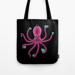 Gentleman Tea Octopus Tote Bag