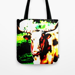 Abstract Longhorn Tote Bag