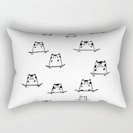 Sk8 Cats Rectangular Pillow