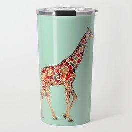 COLORED GIRAFFE Travel Mug