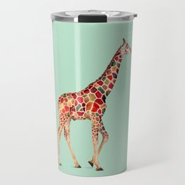 COLORED GIRAFFE Travel Mug